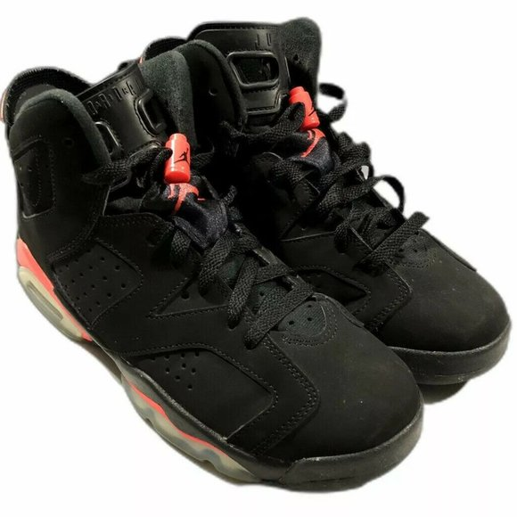 2014 Nike Air Jordan 6 VI Retro Black Infrared
